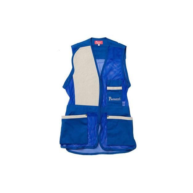 Perazzi Net Skeet Vest Blue Size L - Waistcoats & Vests